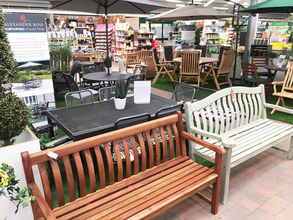Alexander Rose Garden Furniture Showroom