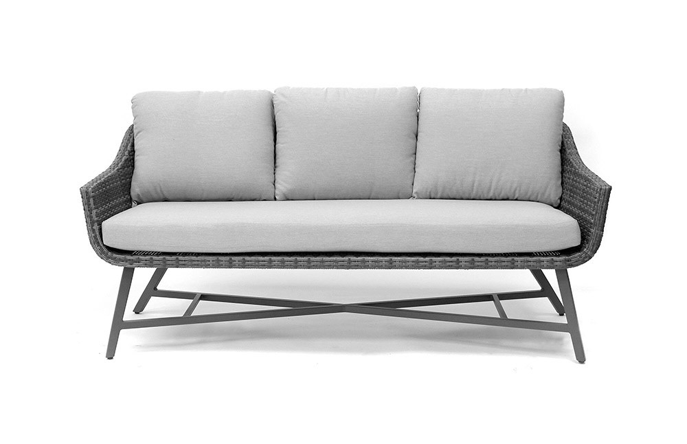 Kettler Lamode 3 Seat Sofa With Cushions