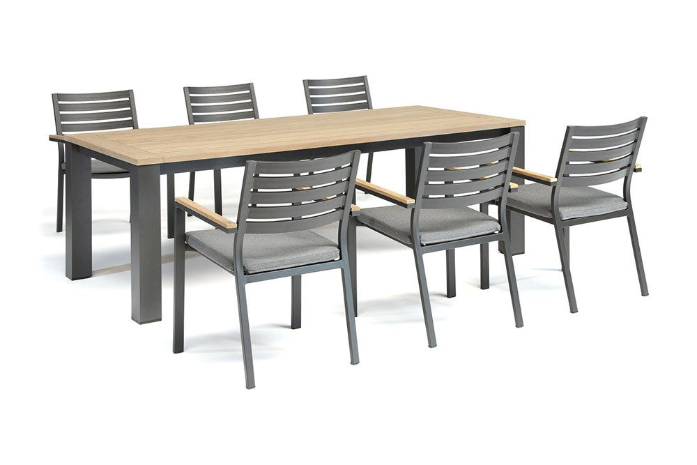 Kettler Elba 6 Seat Dining Set with Chairs