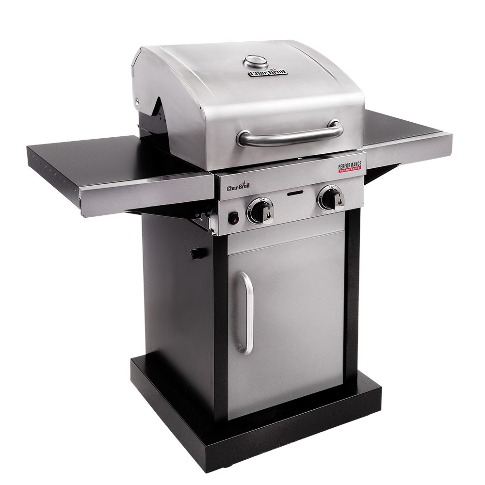 Char-Broil Performance 220 Stainless Steel TRU-Infrared 2 Burner Gas BBQ