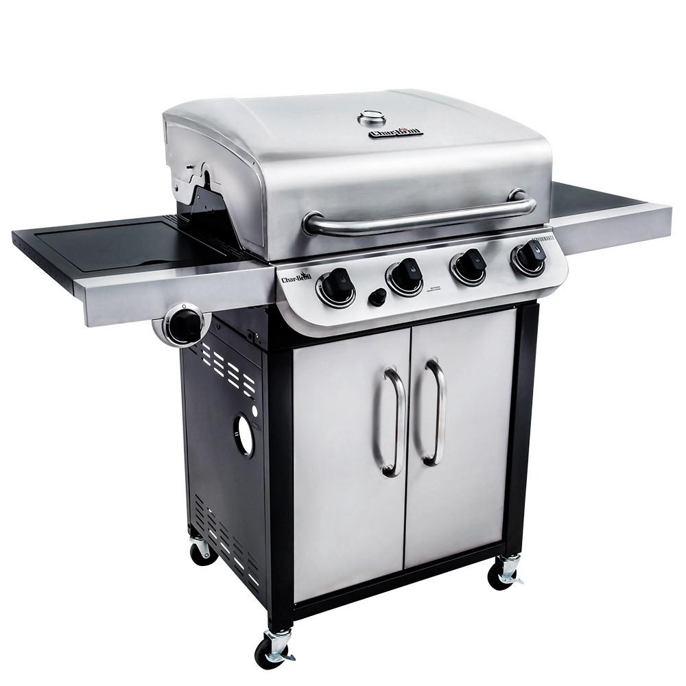 Char-Broil Convective 440S Stainless Steel 4 Burner Gas BBQ
