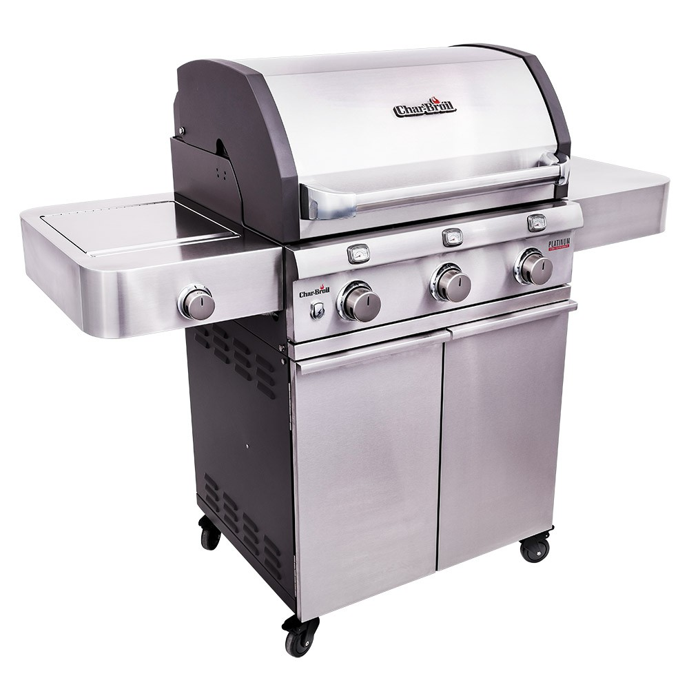 Char-Broil Platinum 3400S TRU-Infrared 3 Burner Gas  BBQ