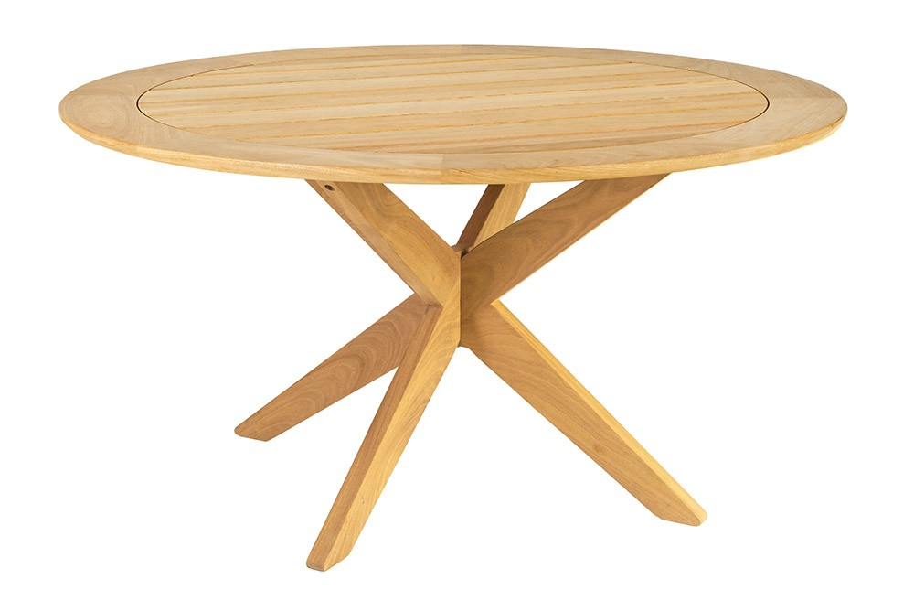 Alexander Rose Roble Round Table with Cross Base 125cm