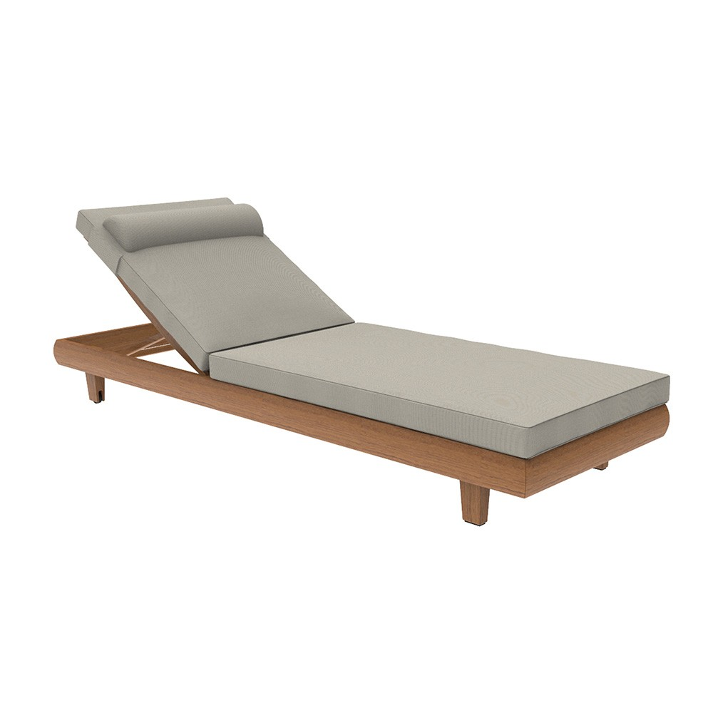 Alexander Rose Sorrento Teak Adjustable Sunbed