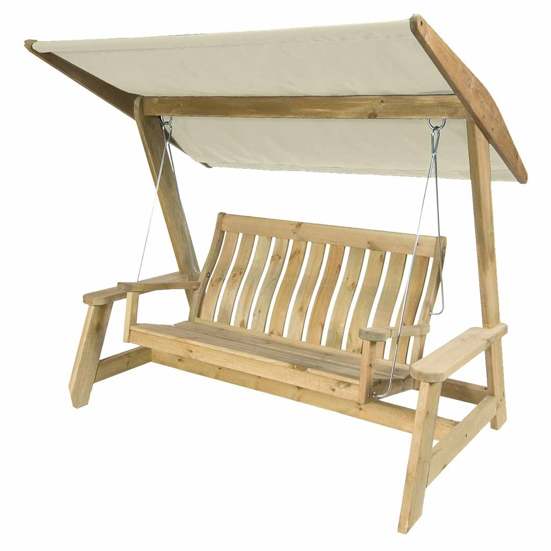 Alexander Rose Swing Seat Canopy for Pine