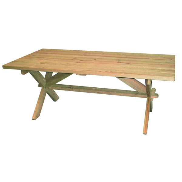 Alexander Rose Pine Farmers Table 1.9X1.0M