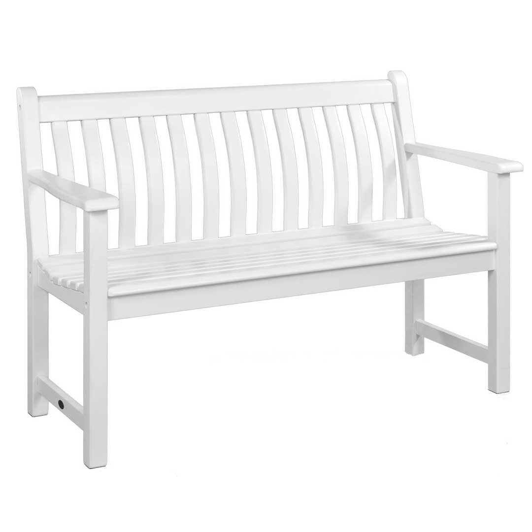 Alexander Rose White Painted Broadfield Bench 4Ft