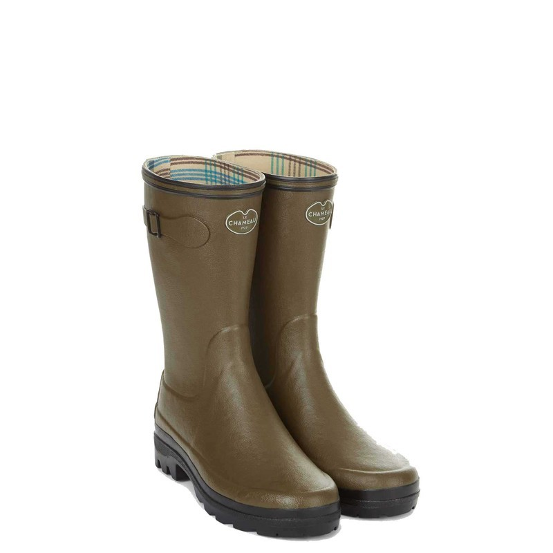 Le Chameau Womens Giverny Low Boot - Vert Chameau Size 4 UK