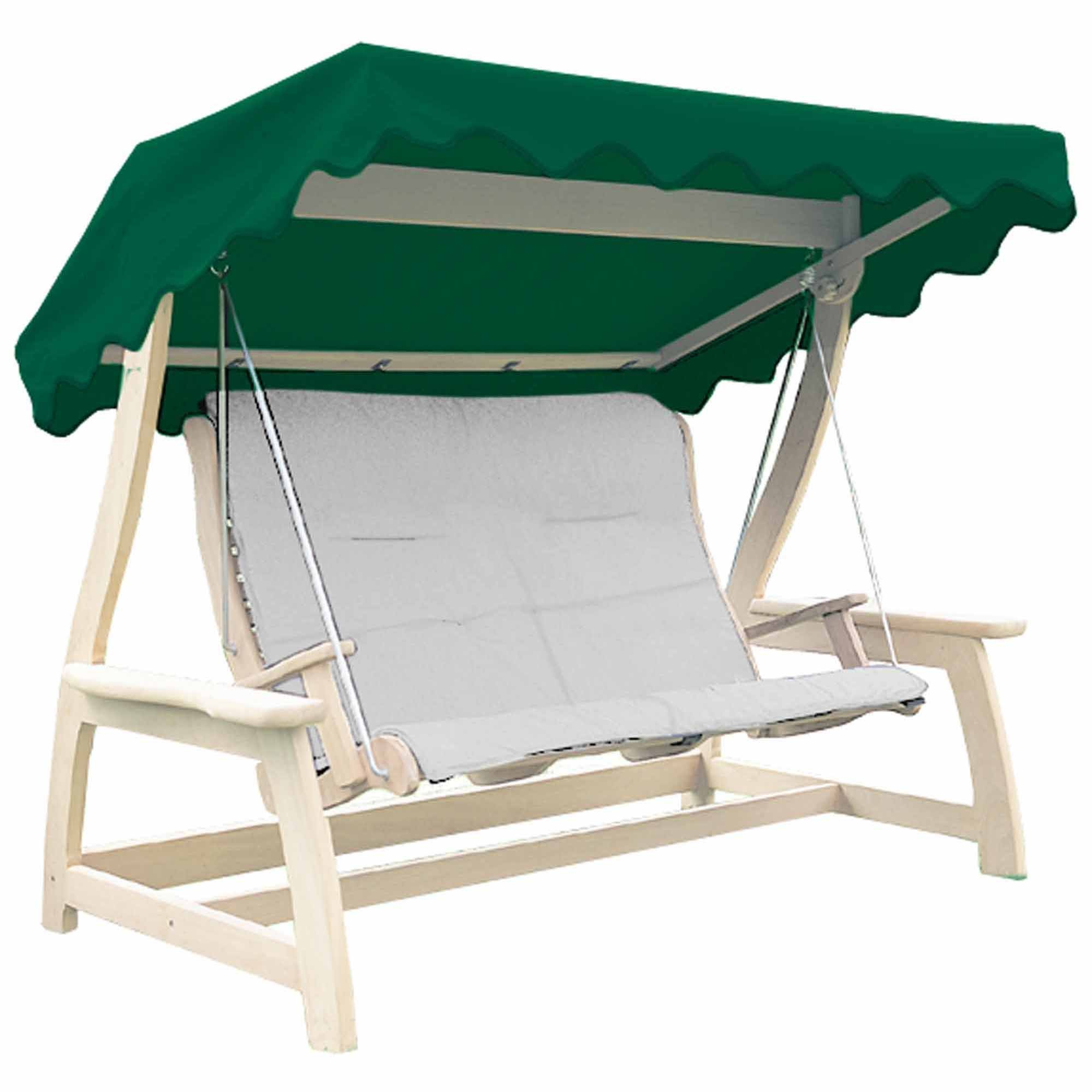 Alexander Rose Acrylic Swing Seat Canopy Green