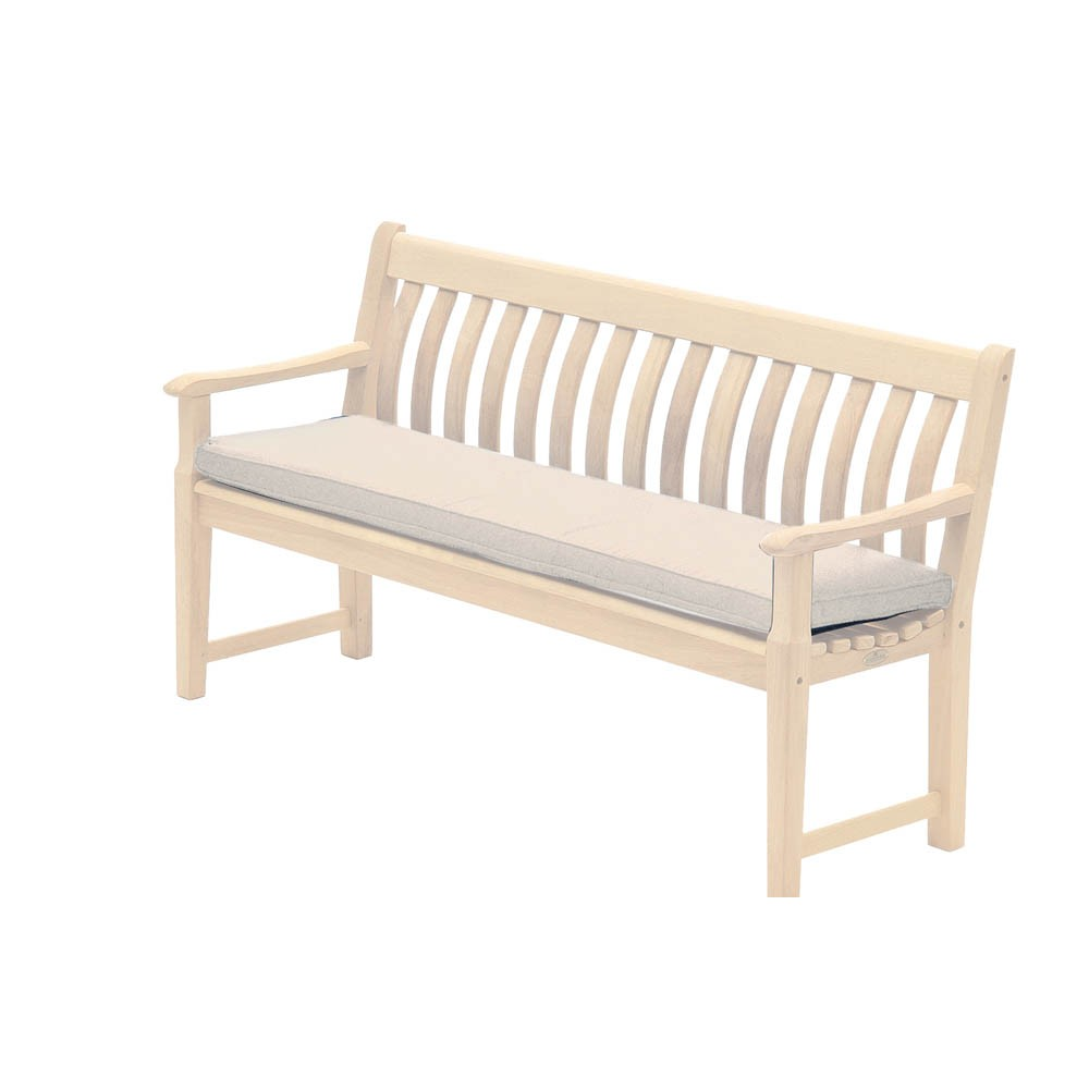 Alexander Rose Olefin 5ft Bench Cushion - Oatmeal