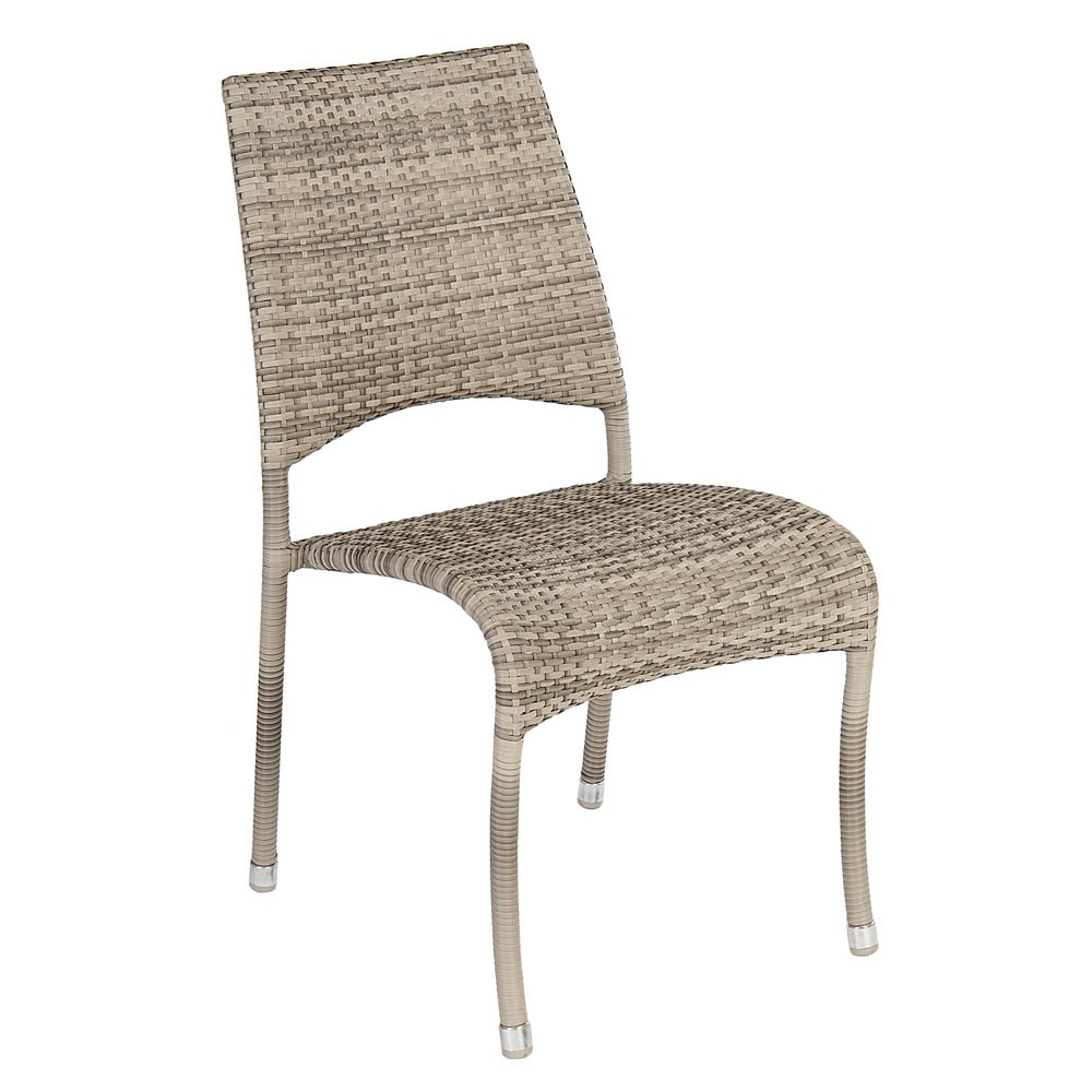Alexander Rose Ocean Pearl Fiji Stacking Side Chair