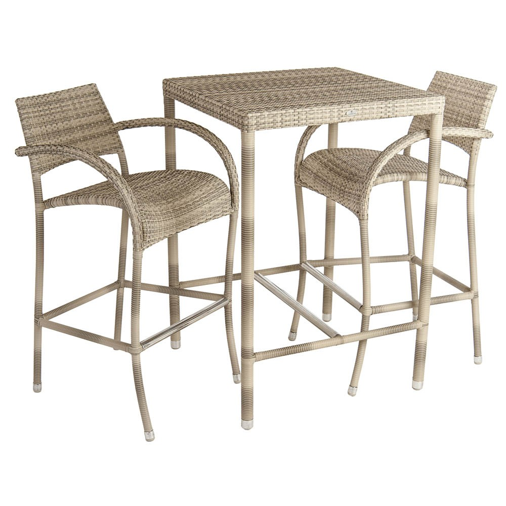 Surprising Alexander Rose Ocean Pearl Fiji High Bar Stool Gmtry Best Dining Table And Chair Ideas Images Gmtryco