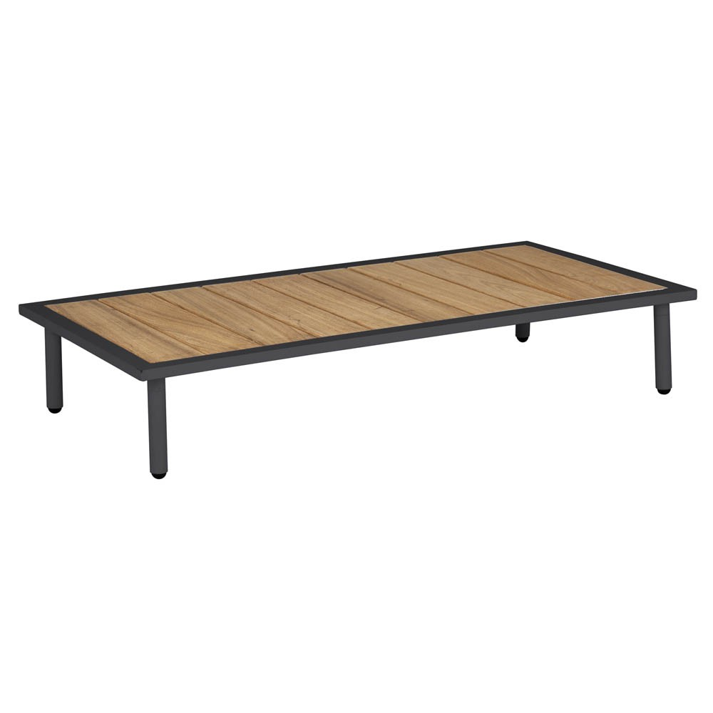 Alexander Rose Beach Lounge Coffee Table - Roble Top