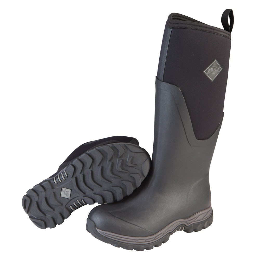 Muck Boot Womens Arctic Sport Black Size 8