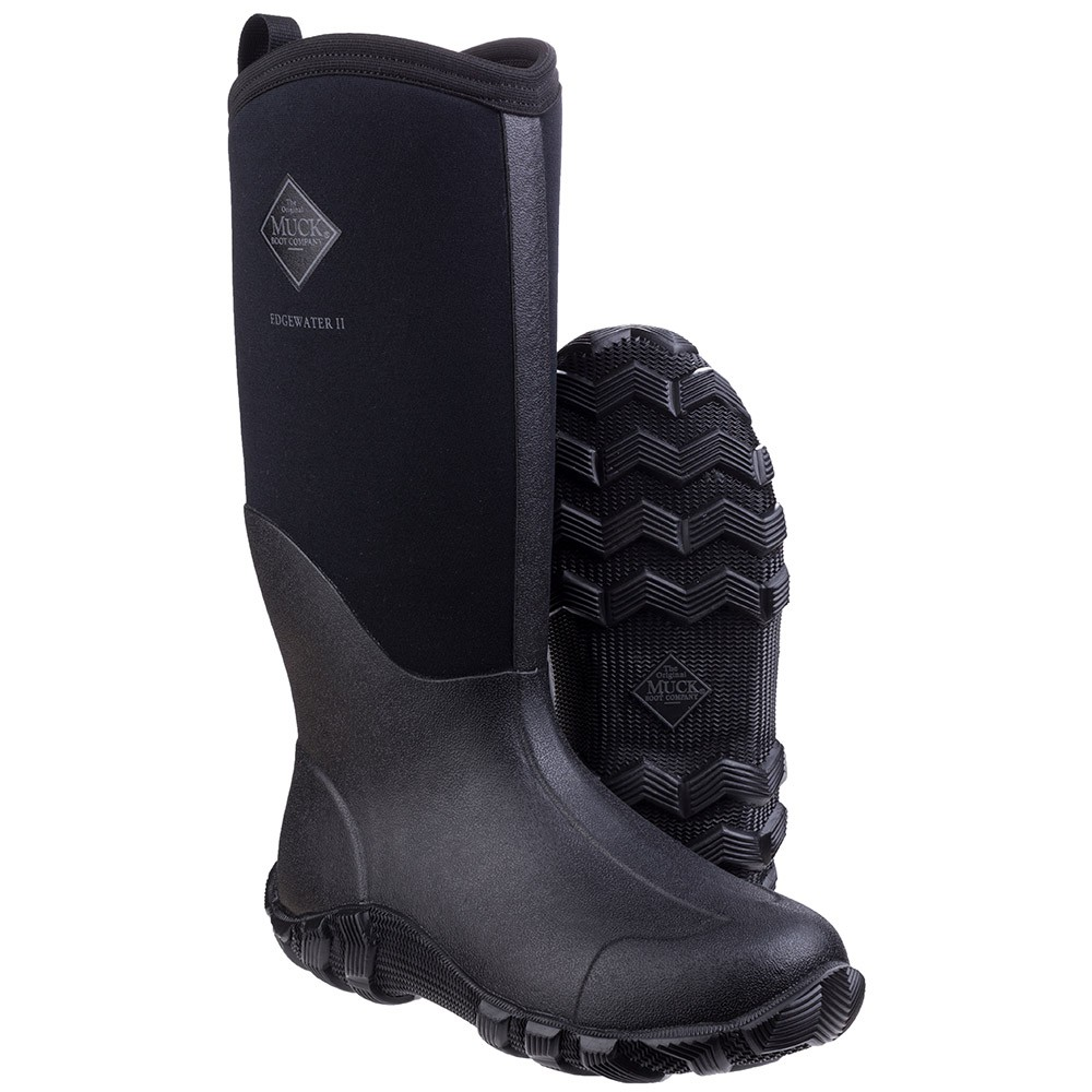 Muck Boot Edgewater II Black Size 8 UK