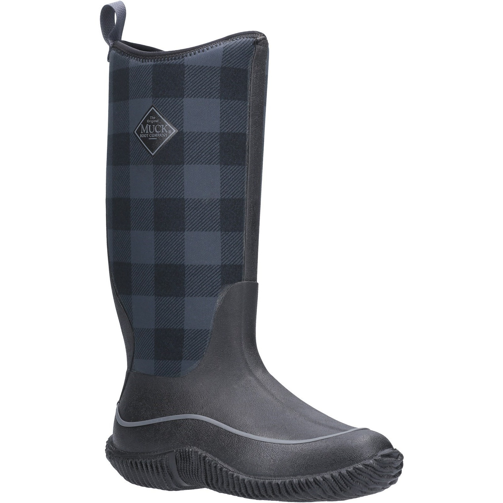 Muck Boot Womens Hale Grey Plaid Size 7 UK