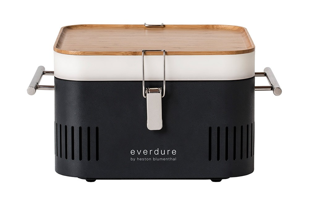 Everdure by Heston Cube Portable Charcoal BBQ - Graphite