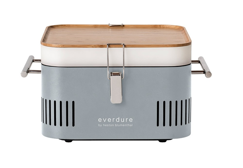 Everdure by Heston Cube Portable Charcoal BBQ - Stone