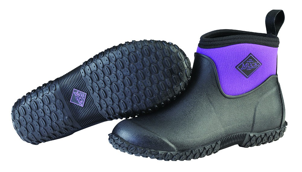 Muck Boot Womens Muckster Ankle Purple Size 4 UK