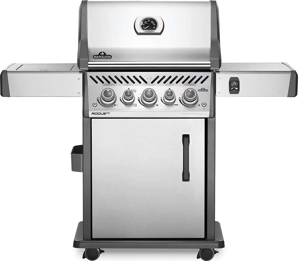 Napoleon Rogue SE 425 Gas BBQ with Infrared Side and Rear Burners - Stainless Steel