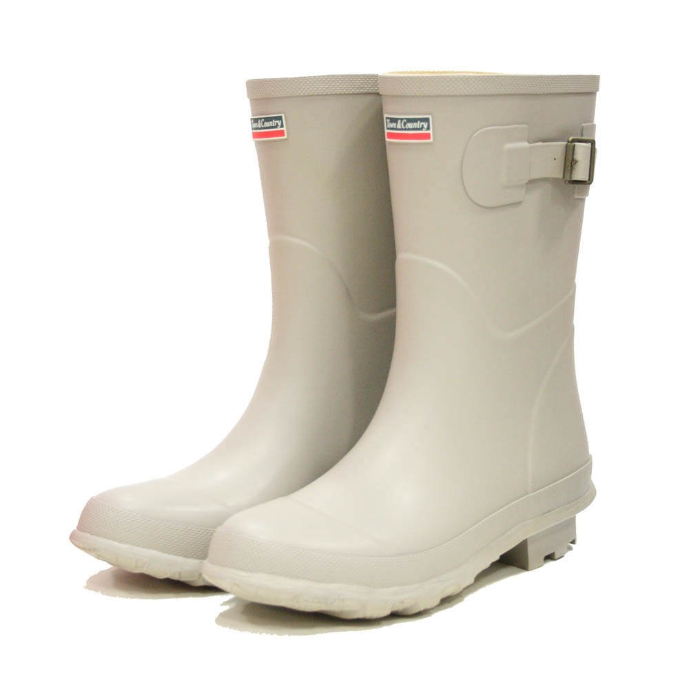 Town and Country Bradgate Stone Wellies - Size 8 UK