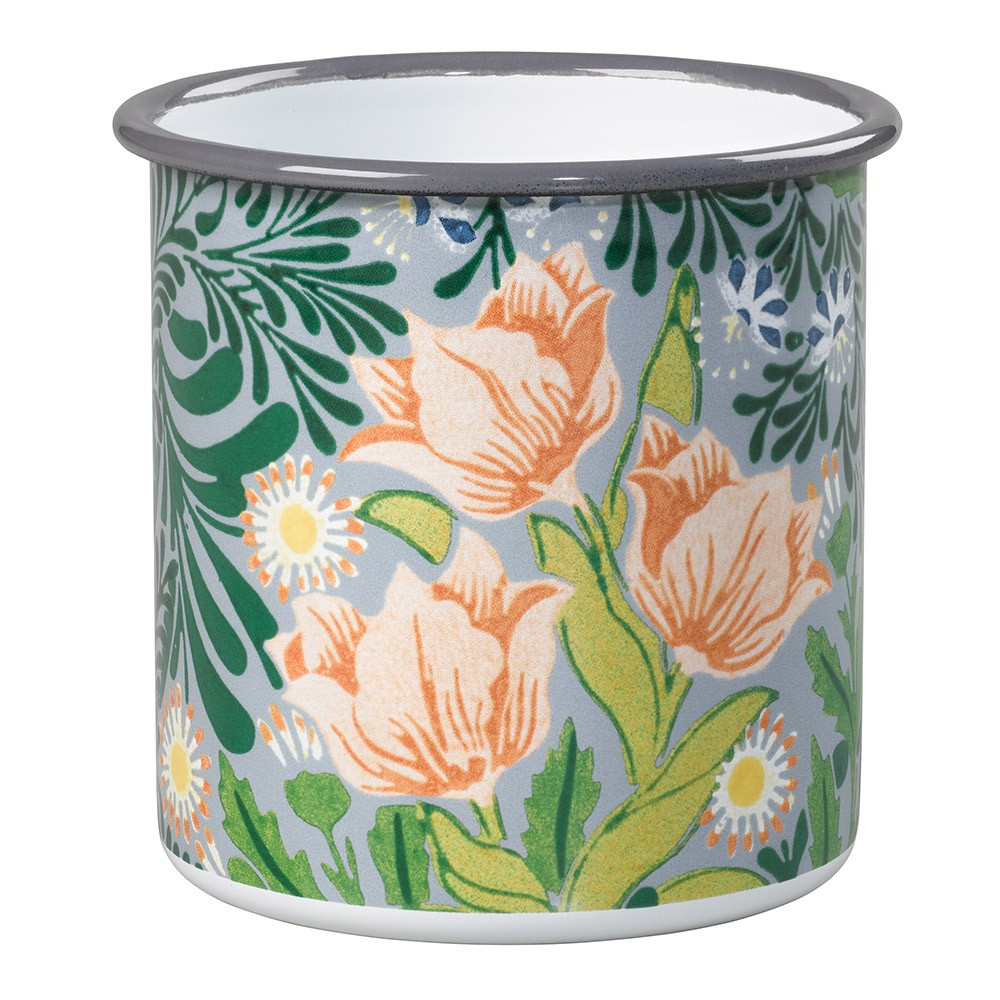 William Morris Small Enamel Pot