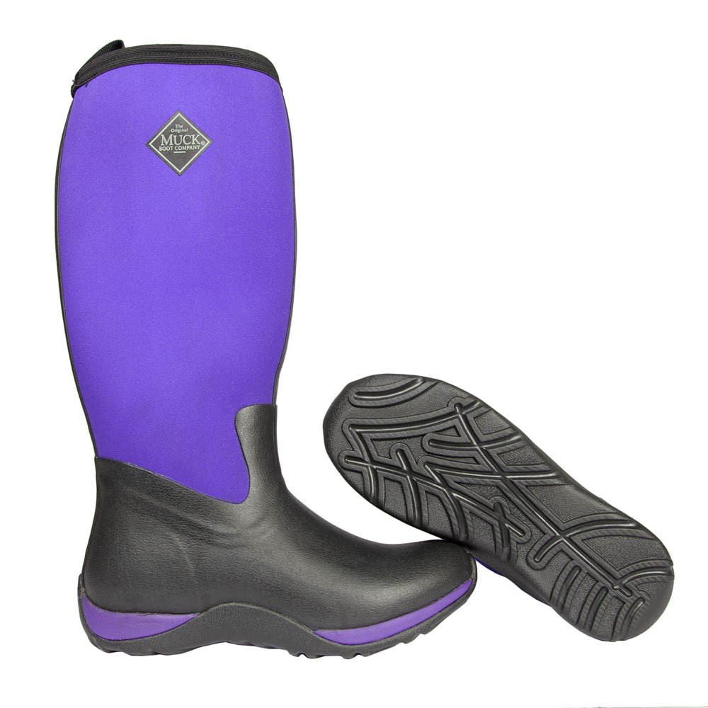 Muck Boot Arctic Adventure Purple Size 8 UK