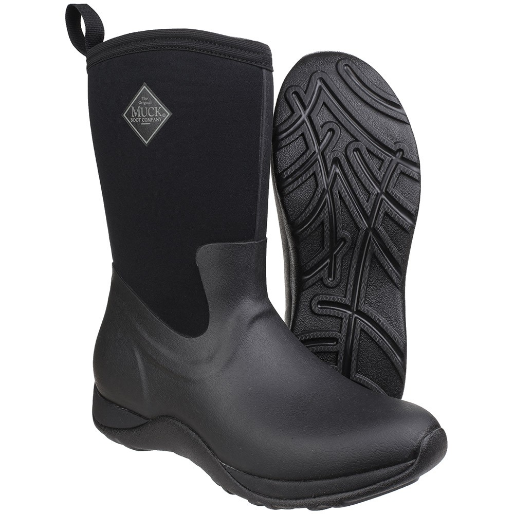 Muck Boot Arctic Weekend Black Size 6 UK