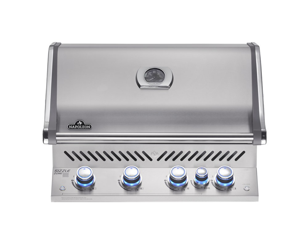 Napoleon Built-in Prestige Pro 500 Natural Gas BBQ