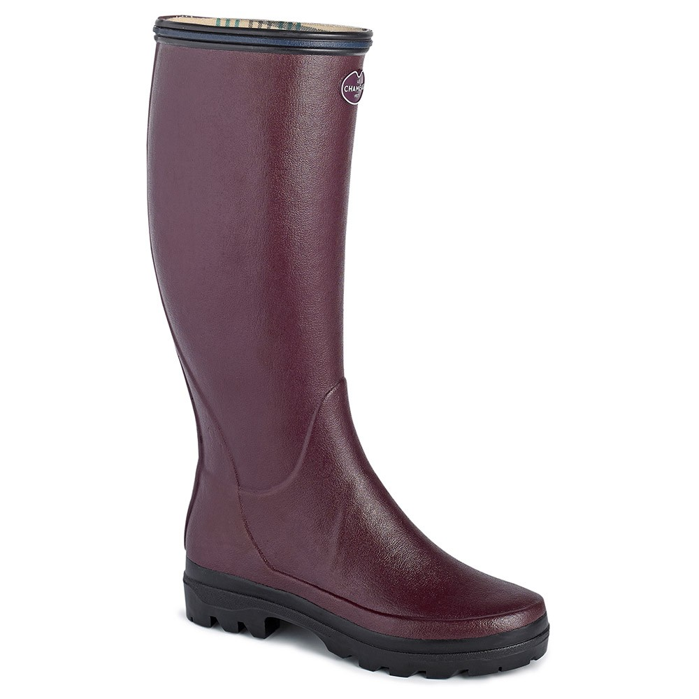Le Chameau Womens Giverny Boot - Cherry Size 6.5 UK