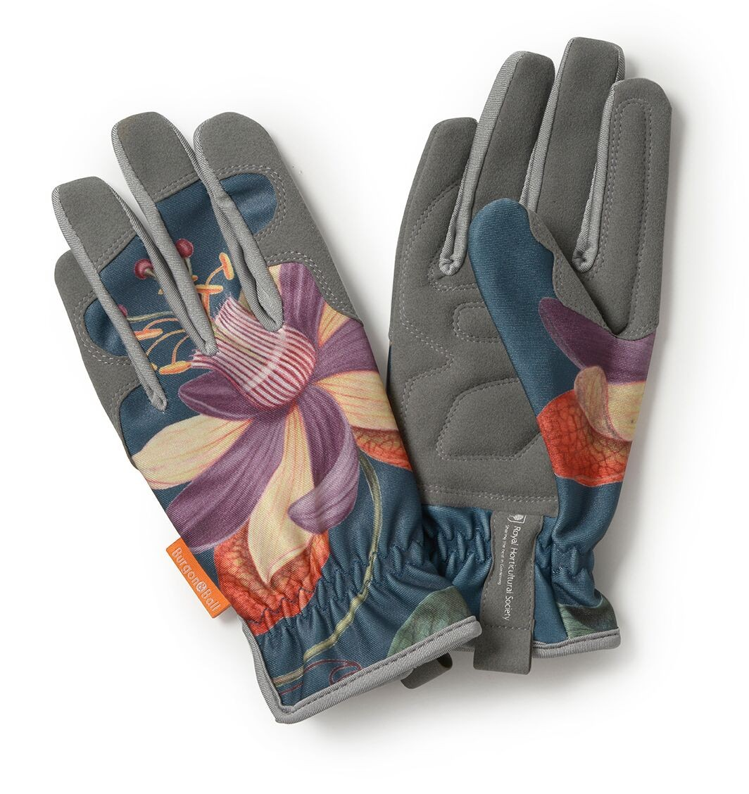 Burgon and Ball Garden Gloves - Passiflora