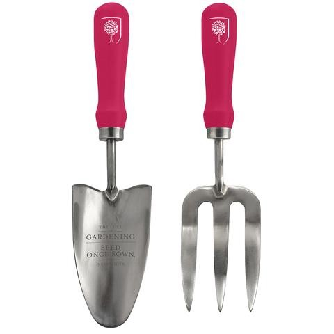 Burgon and Ball Fork and Trowel Garden Gift Set - British Bloom
