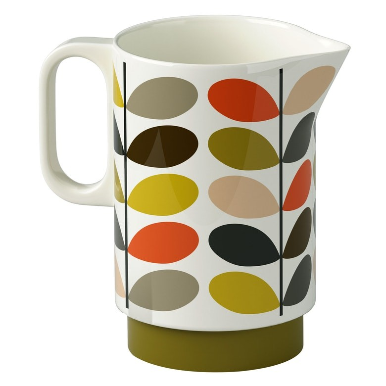 Orla Kiely Ceramic Pitcher - Multi Stem