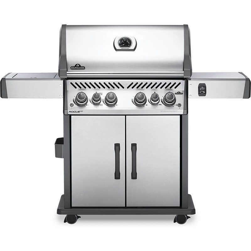 Napoleon Rogue SE 525 Gas BBQ with Infrared Side and Rear Burners - Stainless Steel