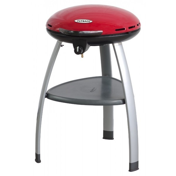 Outback Trekker Portable Gas BBQ - Red