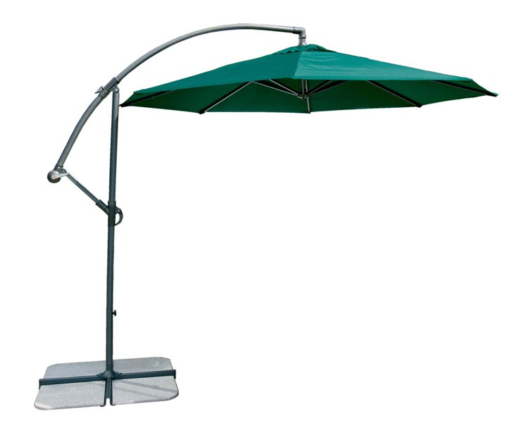 Alexander Rose Round 3.0M Cantilever Parasol Green
