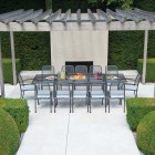 Alexander Rose Portofino 12 Seat Extending Dining Set