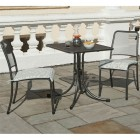 Alexander Rose Portofino 2 Seat Side Chair Square Set