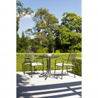 Alexander Rose Portofino 2 Seat Stacking Armchair Round Set