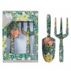 William Morris Fork and Trowel Garden Tool Set