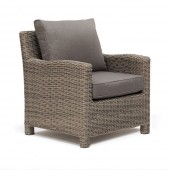 Kettler Palma Armchair with Cushion - Rattan