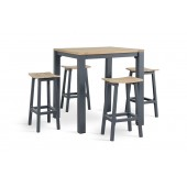 Kettler Elba High Dining 4 Seat Set