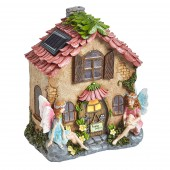 Fairies Only Solar Powered Fairy House by Smart Garden