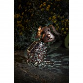 Solar Powered Metal Silhouette Dog Light by Smart Garden