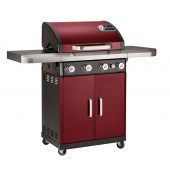Landmann Rexon 4.1 - 4 Burner Gas Barbecue - Bordeaux Red