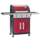 Landmann Triton 3 Burner Gas BBQ Red