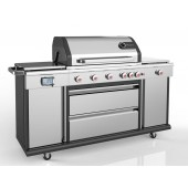 Landmann Triton 6.1 Stainless Steel 6 Burner Gas BBQ