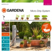 Gardena Flower Pots Starter Set with Water Computer