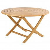 Alexander Rose Roble Bengal Folding Table 1.30M
