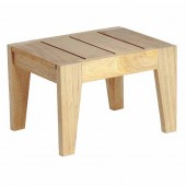 Alexander Rose Roble Sunbed Side Table 0.45X0.35M